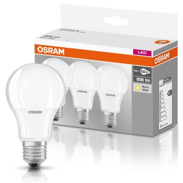 BOMBILLO led Osram de-lámpara E27 Classic A, E27, 8.5 wattsW