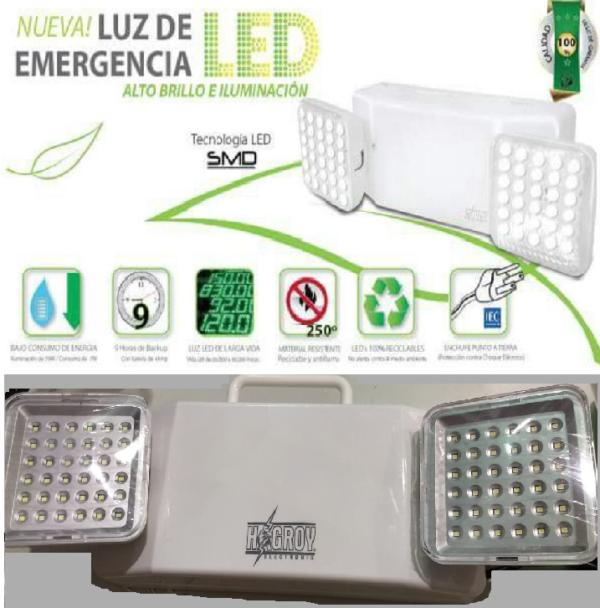 LAMPARA DE HAGROY 72 – EMERGENCIA color Luz y SMD LED 35AqSLc4Rj